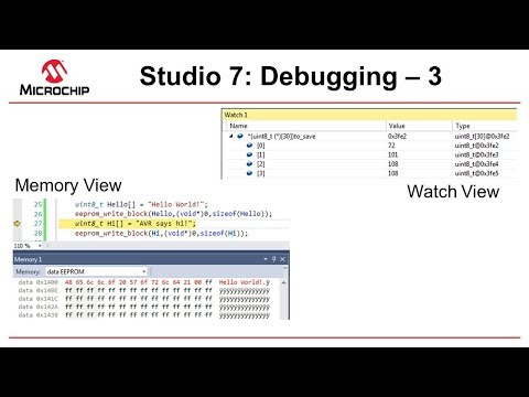 Getting Started with Atmel Studio 7 - Episode 15 - Debugging