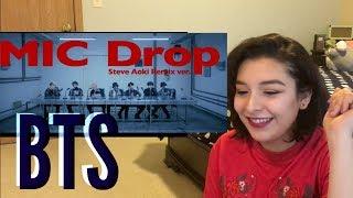 BTS 'MIC Drop' (Steve Aoki Remix) |REACTION