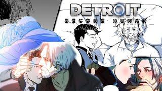 Best of Hank x Connor | Detroit Become Human Comic Dubs Compilation #HankCon