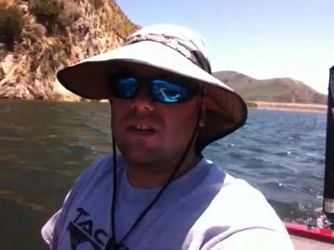 Lake piru fishing report 6 22 2011 youtube for Lake piru fishing report