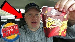 Reed Reviews Burger King Flamin' Hot Mac n' Cheetos