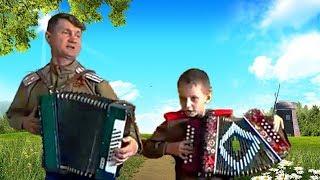 Под окном широким╰❥Красивая НАРОДНАЯ песня о ЛЮБВИ под гармонь ☀️ Russian folk songs to accordion.