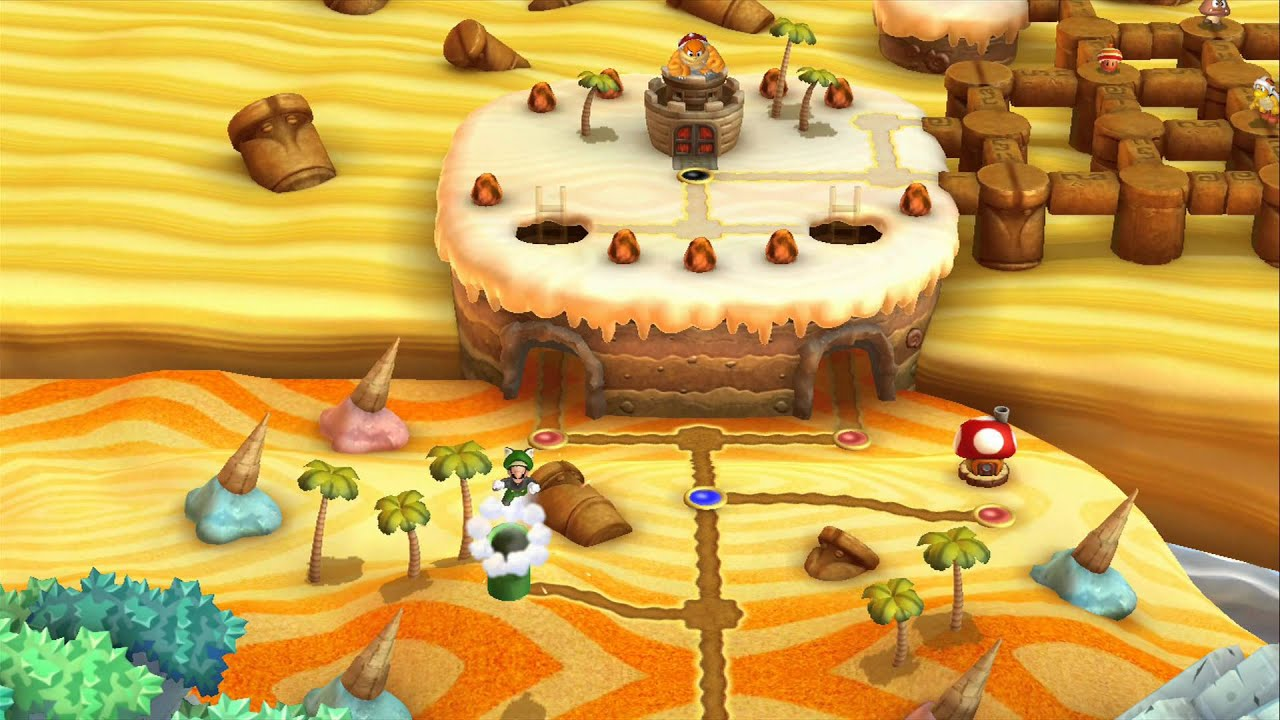 Layer Cake Desert Secret Level Luigi