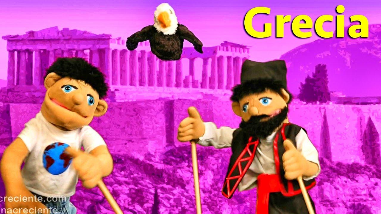 La Vuelta Al Mundo En 80 Globos - Conociendo Grecia - Videos Educativos Para Niños