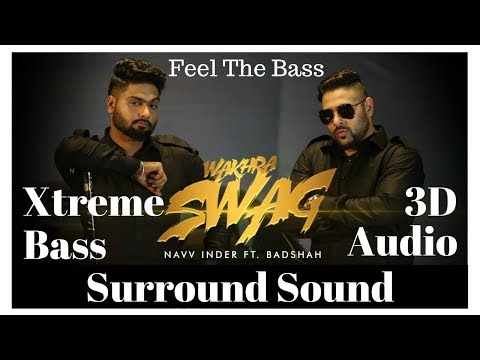 ☠ Extreme Bass Boosted 👉 Wakhra Swag - Navv Inder ft. Badshah | 3D Audio | Use Headphones 👾