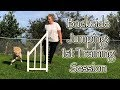 """Backside Jumping - Dog Agility """"How To"""" 1st Session"""