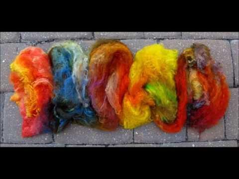 Camaj Fiber Arts - How To Dye Silk Lap