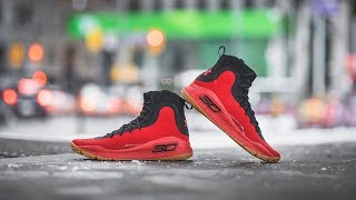 Review \u0026 On-Feet: Under Armour Curry 4