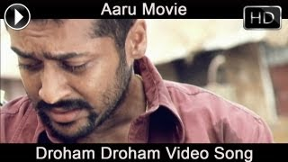 Aaru  Movie | Droham Video Song | Surya | Trisha