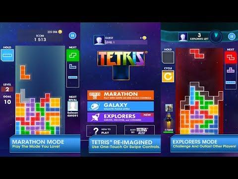 1st Tetris Challenge! | Not Lucky Enough | Tetris Gameplay | AnoaGamer