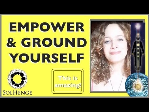EARTH ENERGY SIPPING TECHNIQUE- EMPOWER AND GROUND YOURSELF