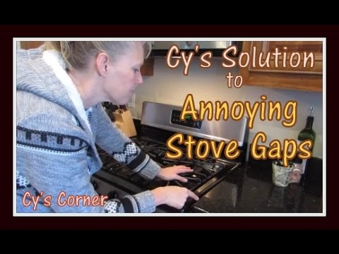 Cy S Solution To Annoying Stove Gaps Youtube
