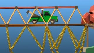 Twitch Chat Plays the Hardest Levels in Poly Bridge 2