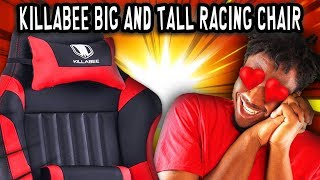 Best Racing Chair For Big & Tall Gamers!!?! | KILLABEE 8212 REVIEW 🔥