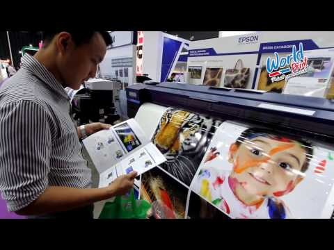 World print FESPA ASIA 2017 Bangkok