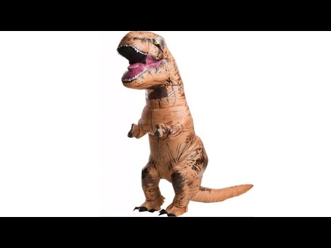 Jurassic World T-Rex Inflatable Costume - NEW FOR 2015