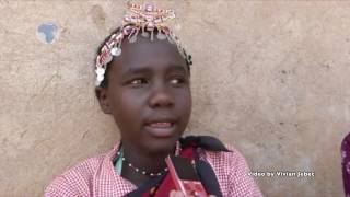 14-year old girl champions aganist early childhood marriage