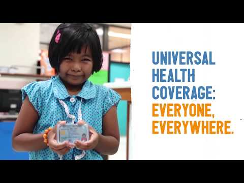 Universal Health Coverage: everyone, everywhere