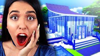 UMA CASA TODA AZUL (Desafio da Cor - The Sims 4)