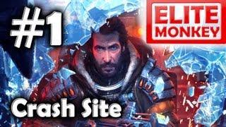 Lost Planet 3 - Walkthrough Part 1 - Crash Site [Commentary] [HD PC]