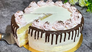 Bayramona Tort Yumshoq mayin va mazali Самый вкусный бисквитный торт