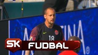Dve Briljantne Odbrane Milana Borjana na Meču Kanada - Martinik   SPORT KLUB FUDBAL