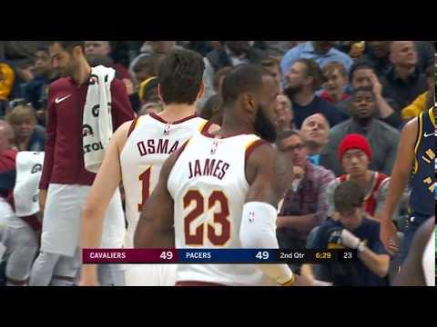 Cedi Osman ve LeBron James aynı anda parkede
