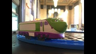 Trem de Brinquedo Chuggington Koko visit Union Station, Omaha, Nebrasaka 02052 pt