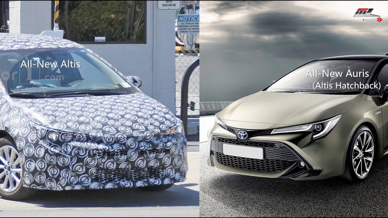 ตัวเป็นๆ All-New Toyota Altis ใหม่ วิ่งทดสอบแล้ว!   MZ Crazy Cars
