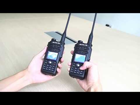 Retevis RT82 Dual Band DMR Radio Record and Promiscuous