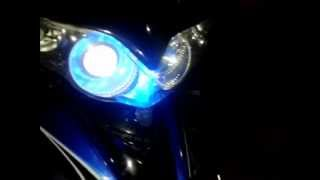 Repeat youtube video Led Projector di motor jupiter z burhan