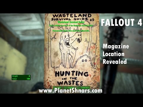 Fallout 4 - Magazine Locations