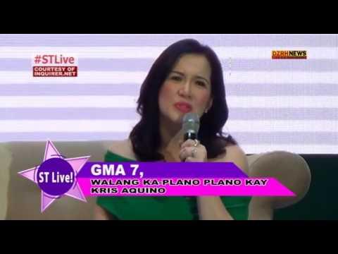 GMA 7, WALANG KA-PLANO PLANO KAY KRIS AQUINO