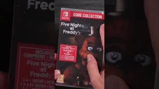 Five Nights at Freddy's Nintendo Switch Collection 🧸 #Shorts