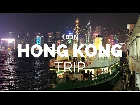 My Hong Kong Travel Experience   What I Do On A 4 Days Trip To Hong Kong! (Day 1)
