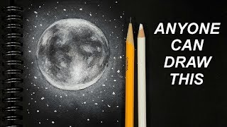 ANYONE Can Draw This Moon