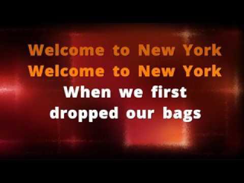 ProSingKaraoke   Taylor Swift   Welcome To New York Karaoke Version And Lyrics x264