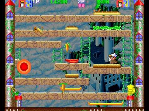 Super BurgerTime 2 player Netplay arcade game