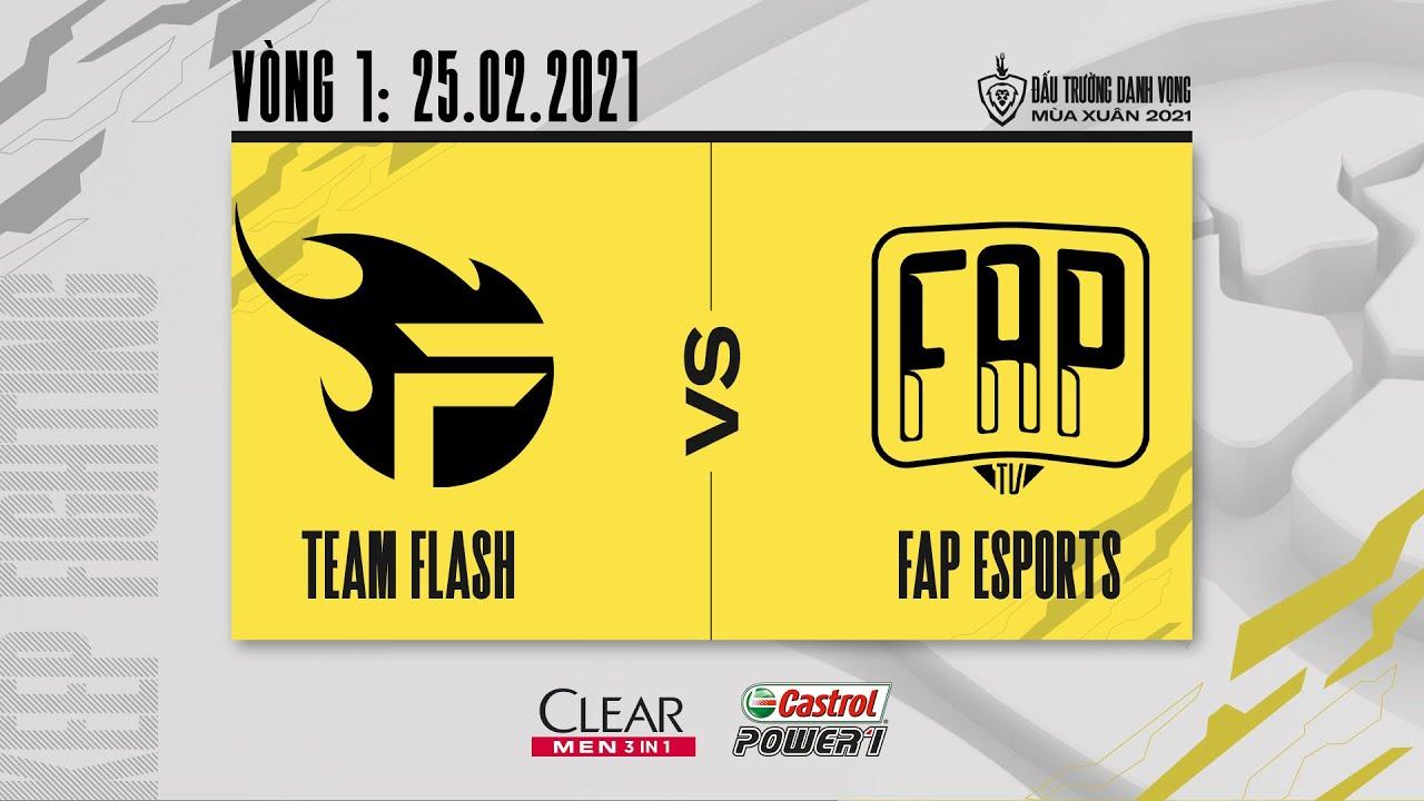 Team Flash vs Fap Esports – Vòng 1 ngày 1 [25.02.2021] | ĐTDV mùa Xuân 2021