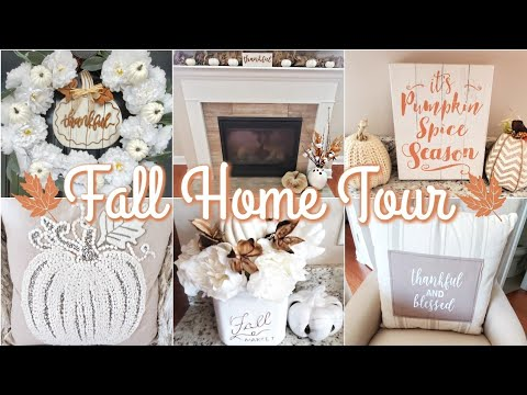 FALL HOME DECOR HOUSE TOUR | 2019🍁🍂