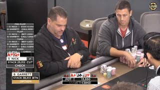 Garrett Adelstein's Sickest Bluff Ever??? ♠ Live at the Bike!