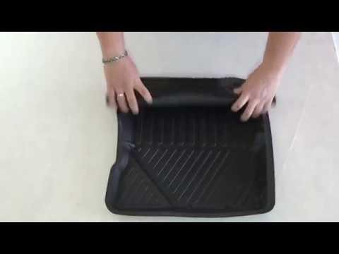 Глубокие резиновые коврики SRTK (обзор на TOP-CAR.COM.UA)