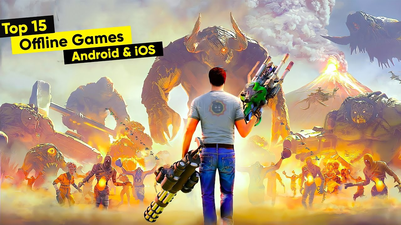 Top 15 Best OFFLINE Games for Android & iOS 2020 | Top 10 Offline Games for Android 2020 #9