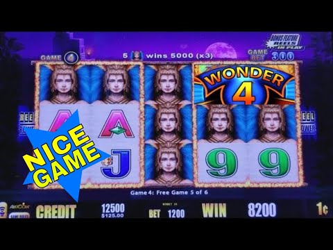 ★$12 MAX BET★ Fire Light Slot Machine Bonuses Won !WONDER 4 Live Slot Play/NICE GAME - 동영상