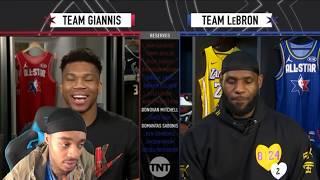 FlightReacts 2020 NBA All-Star Draft - Team LeBron vs Team Giannis