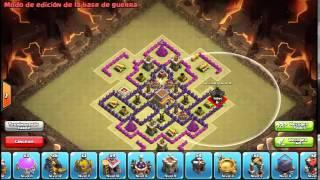 Clash of Clans - Base De Guerra Ayuntamiento 8..Chino Coc