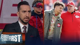 With Reid & Mahomes, the Chiefs should always be in the playoffs — Nick | NFL | FIRST THINGS FIRST