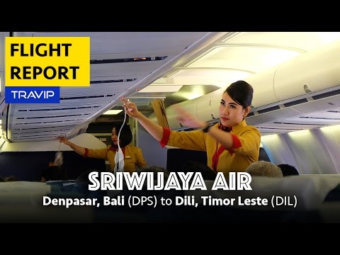 Sriwijaya Air Experience on Boeing 737-500W: Denpasar Bali to Timor Leste