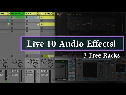 Free Live 10 Audio Effect Racks - FTW! - Subaqueous Music