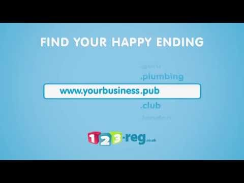 gTLDs - Find a happy ending for your business | 123-reg